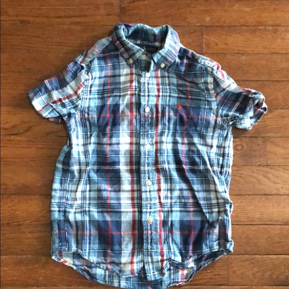 Polo by Ralph Lauren Other - Polo Short Sleeve Plaid Button Down